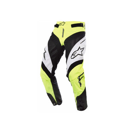 Alpinestars A-Line Pants Yellow Fluo / White