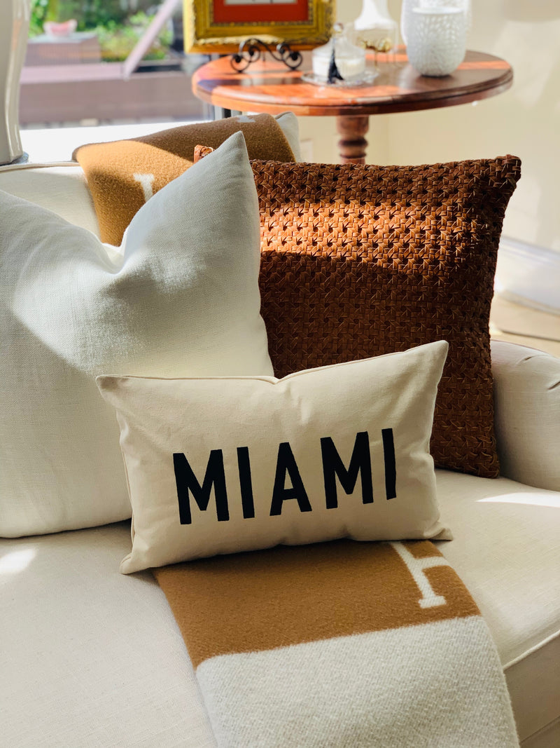 Send Me Your Location Throw Pillow