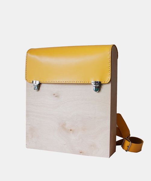 Colourful Wood Backpacks - GRAV GRAV