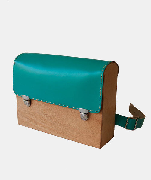 GRAV GRAV - Mint Wooden Backpack $110