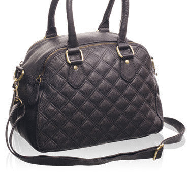 Quilted Leather Handbag
