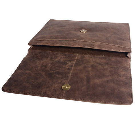 Leather iPad Sleeve - Leather Bags - Teals