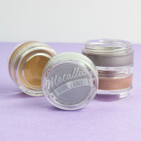 Metallic Body Paint set of 4