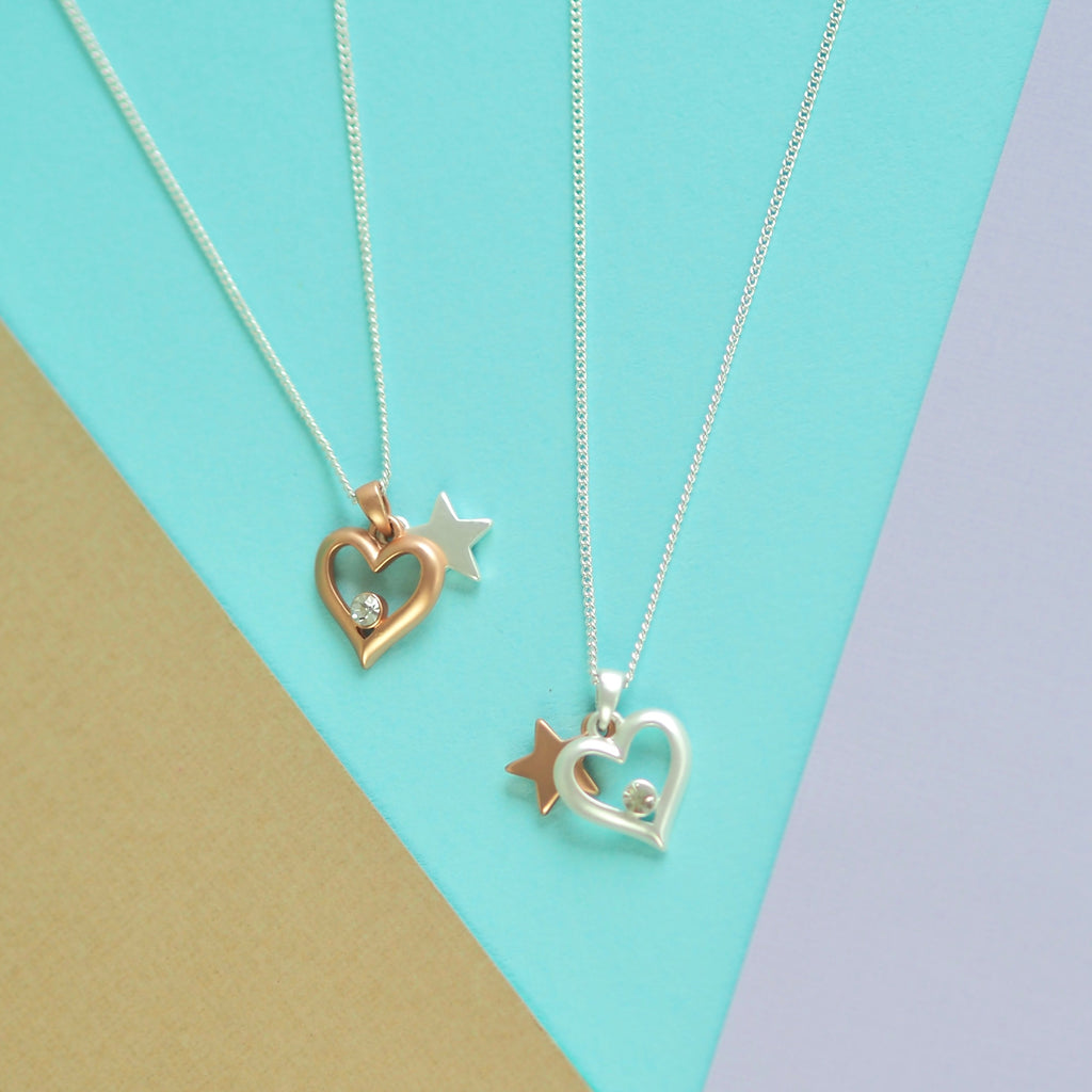 Hearts and Stars Necklace