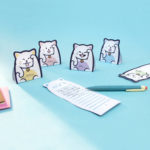Lucky Cat Message Pads