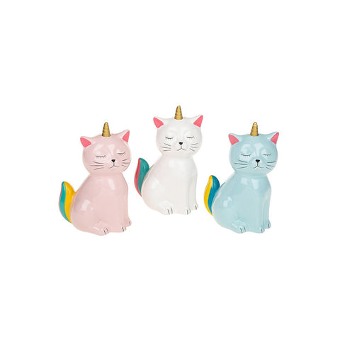 Unicorn Cat Money Box