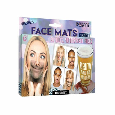 Funny Party Face Mats