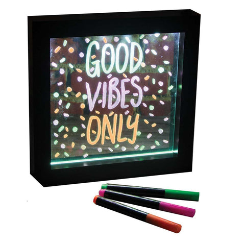 Small Neon Message Frame