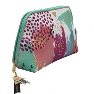 Paint Pattern Make Up Bag