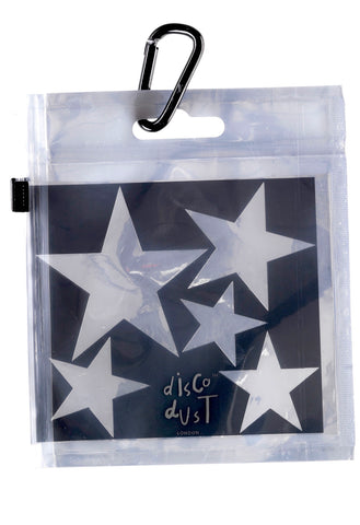 Star Stencils for glitter - great for parties and festivals