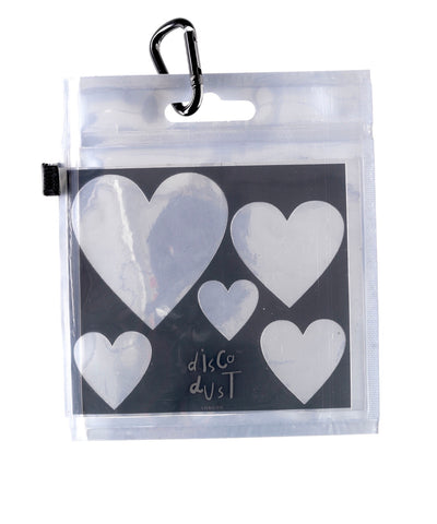 Heart Stencils for Glitter perfect for parties and festivals
