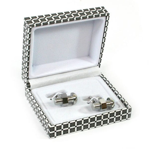 Nut and Bolt Cufflinks
