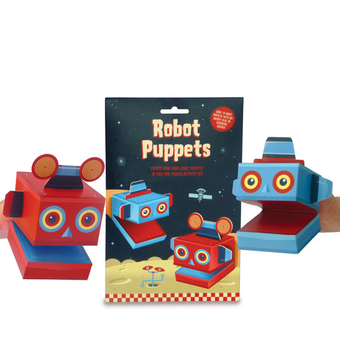 Make your own Robot Puppets