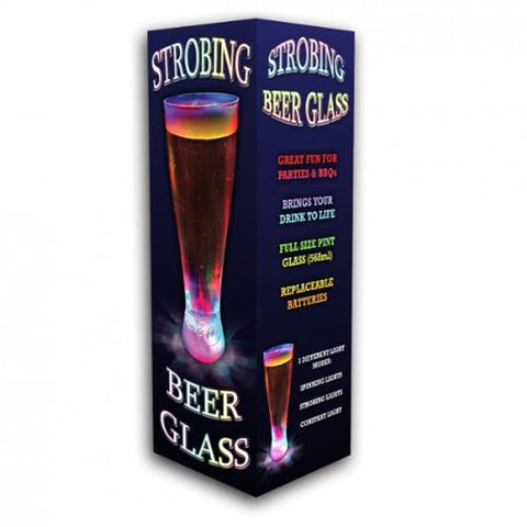 Strobing Glass for Water, Beer or any Beverage