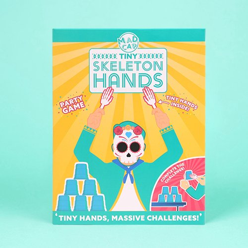 Tiny Skeleton Hands Game