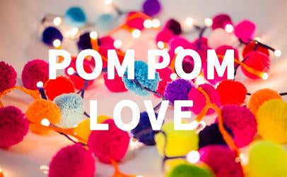 funky, fun and colourful Pom Poms from Get It Rapt - Gifts for Teenagers