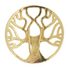 hair hook tree of life gold ponytail holder