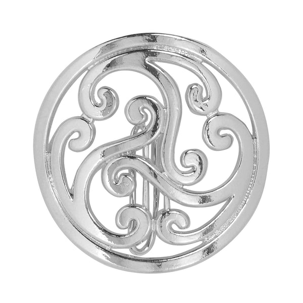 Hair Hook Celtic - Silver, Ponytail Holder