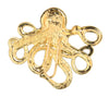 Hair Hook Cthulhu - Gold, Steam Punk Pirate Ponytail Holder