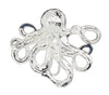 hair hook cthulhu silver steampunk and pirate ponytail holder