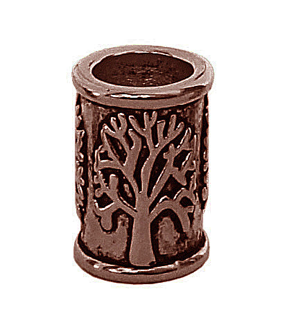 New! Tree of Life Hair Bead - Copper