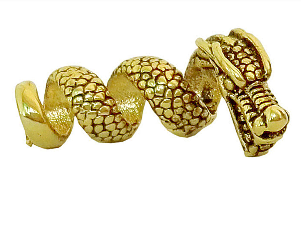 New! Imperial Dragon Hair Bead - Gold - Regular
