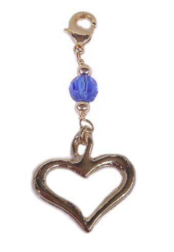 Charm Large Gold - Heart
