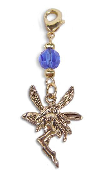 charm small gold fairy