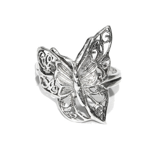 Butterfly Ring - Sterling Silver