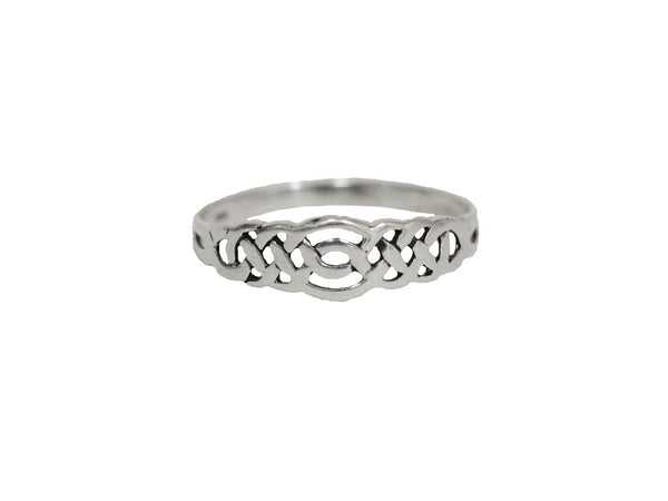 Celtic Braid Ring - Sterling Silver