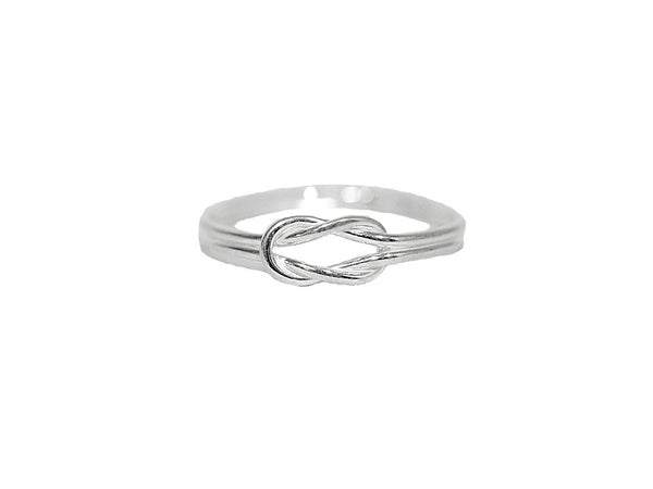 Heracles Knot Ring - Sterling Silver