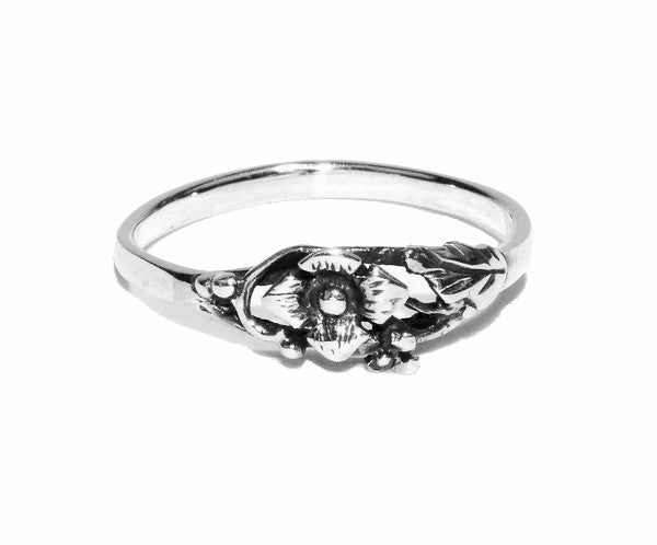 One Love Rose Ring - Sterling Silver