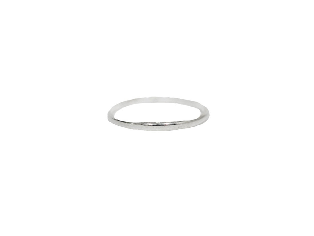 Thin Band Ring - Sterling Silver
