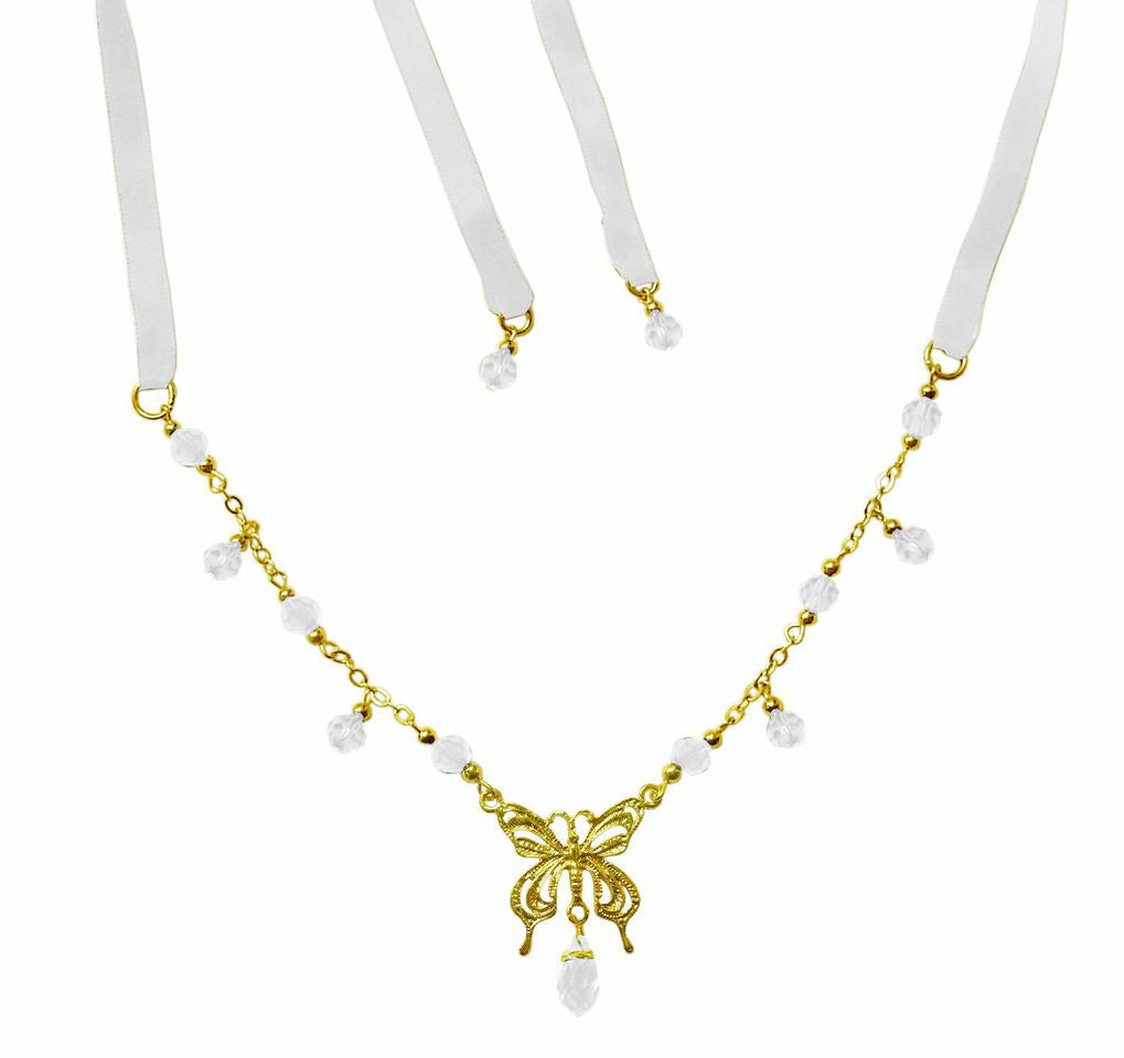 Crown Gold Butterfly