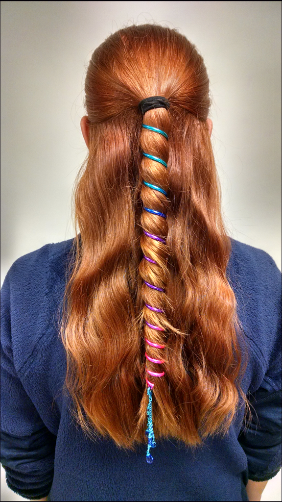 Ponytail Wrap Rainbow - 12