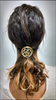 Hair Hook Celtic - Gold, Ponytail Holder