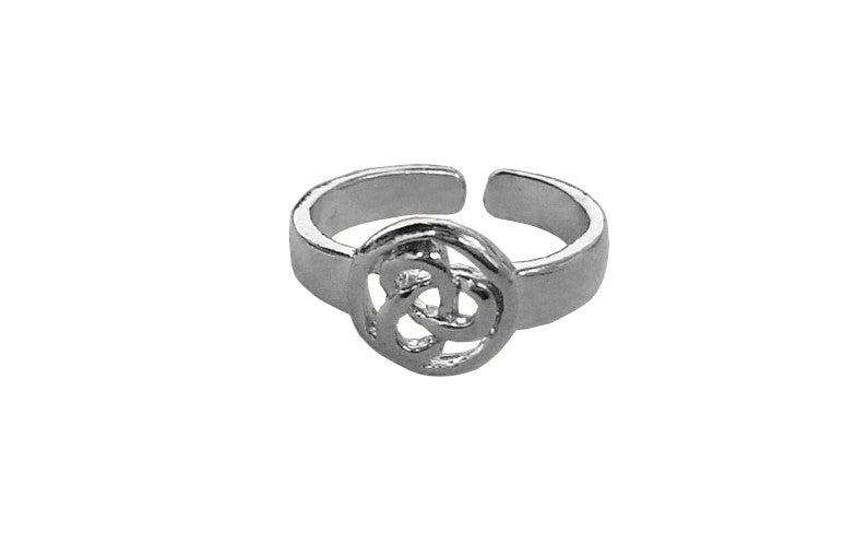 Celtic Eternity Toe Ring - Silver