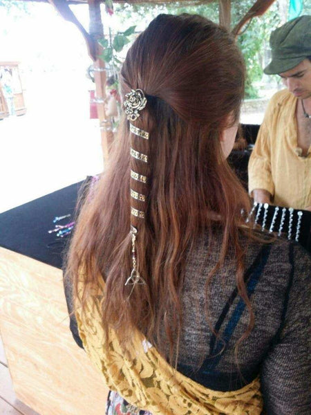 ponytail wrap 6 u0026quot  golden eternity  metal spiral wrap  u2013 hair twisters