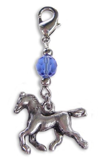 Charm Small Silver - Horse