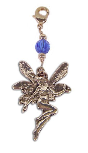 Charm Large Fairy - Gold