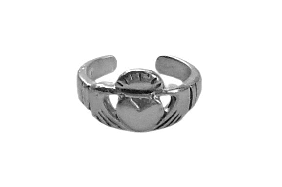 Ear Cuff Claddagh - Silver