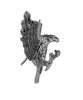 Hair Hook Eagle - Silver Ponytail Holder