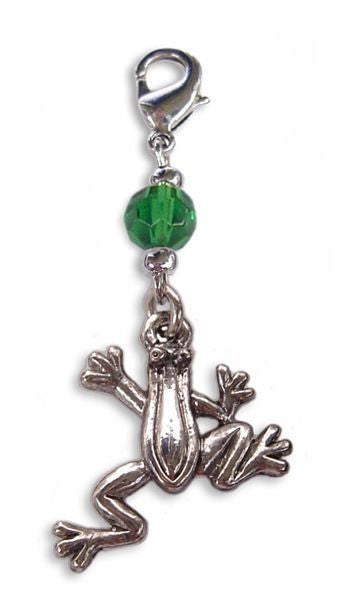 Charm Small Silver - Frog