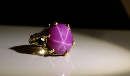 Star of Gold Ring-One of a Kind