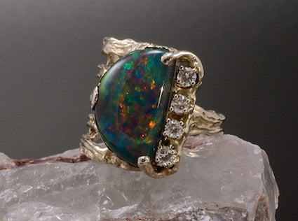 World of Fire Ring-One of a Kind