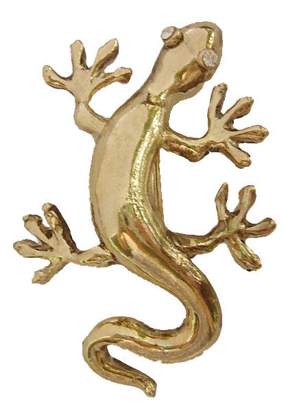Hair Hook Gecko - Gold Ponytail Holder