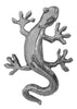 Hair Hook Gecko - Silver Ponytail Holder