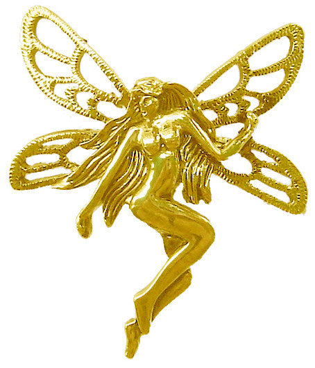 Hair Hook Tinker Bell - Gold Ponytail Holder
