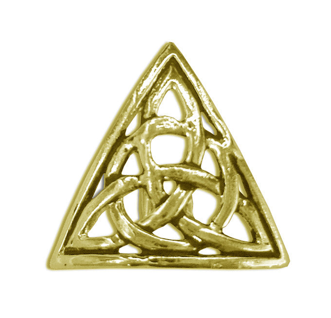 Hair Hook Triangle - Gold Ponytail Holder