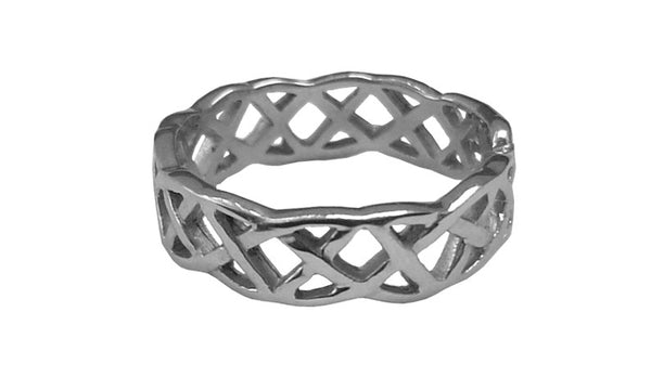 Open Celtic Knots Ring